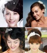 精致梦幻的时尚新娘婚礼发型