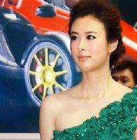广州国际车展美女---美女与兽兽