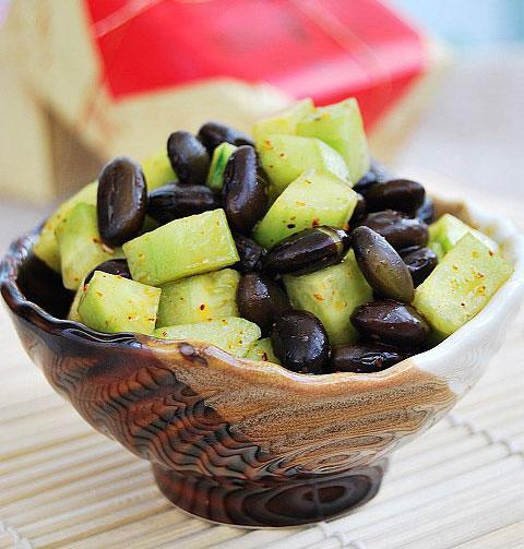黑豆黄瓜丁