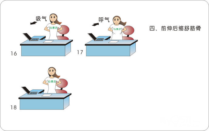 预防颈椎病的方法