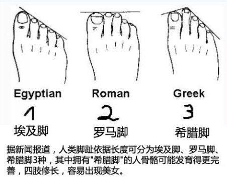 如何从脚相看一个人是否富贵
