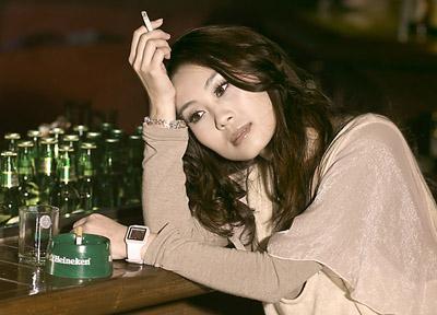 患烟隐的女人