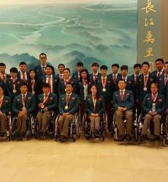 中国残奥健儿再创历史 赞助商大洋医疗科技成赢家