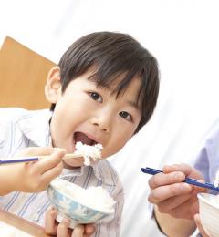 据说早餐吃饭是日本人长寿的原因之一
