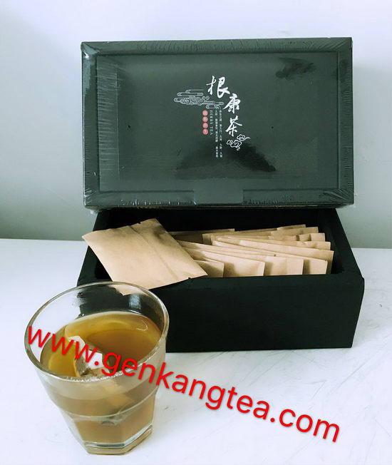 根康茶是由珍贵食药材研磨而成