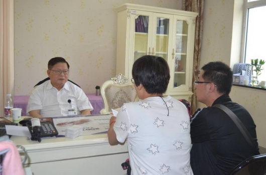 宾客通过壹加医预约到张�N平教授的看诊机会