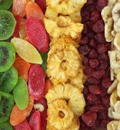 喜吃水果干、色拉酱 吃进满满的卡路里