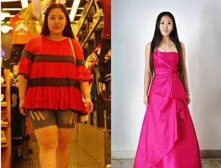 昔日最美女胖上演人生反转,瘦身之后天壤之别