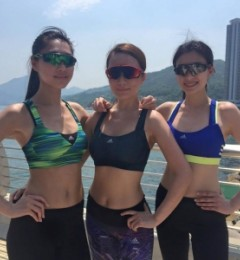 与闺蜜一起运动 减肥更有效
