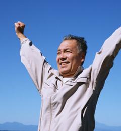 中老年养肺 才会心胸豁达健康长寿