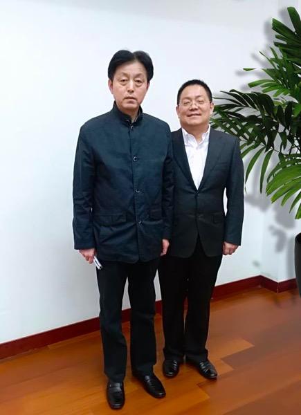 安徽省副省长谢广祥邀请徐国栋赴省人民政府座谈