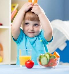 孩子老挑食身体差 父母身教是关键