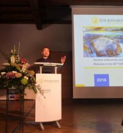 王红锦院长出席德国世界中医药交流大会