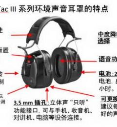一双能够提高工友工作效率的优质防护耳罩――3M防护耳罩