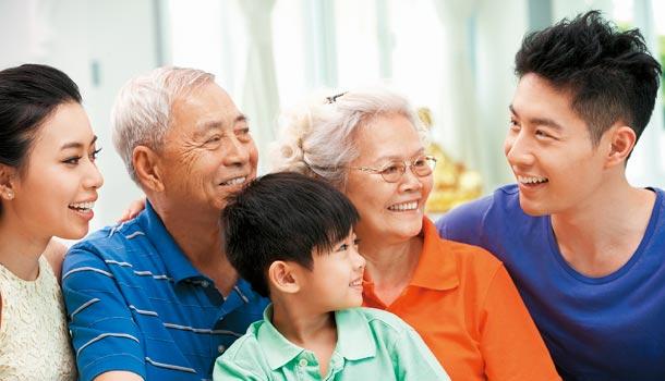 看起来年轻的人活得更长寿