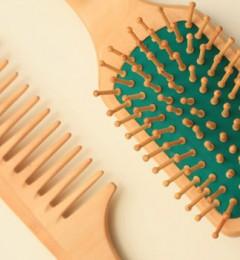 为了秀发健康 你需选择一把合适的梳子