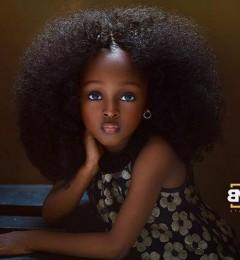尼日利亚5岁女童美照 被赞倾国倾城