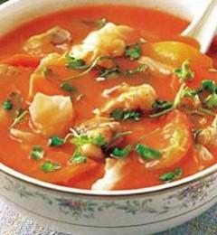 番茄排骨汤最好吃的做法