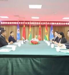 玻利维亚外交部长瓦纳库尼莅临北京国丹白癜风医院访问