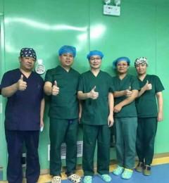 喜报连连!伊生泰妇产医院又一例宫腔镜下5cmx1.5cm子宫肿物切除术顺利完成