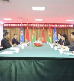 中国网:玻利维亚外交部长莅临北京国丹医院访问考察