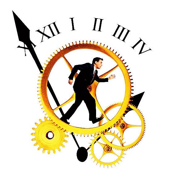 生命是一场与时间的赛跑 成功者让它成为永恒