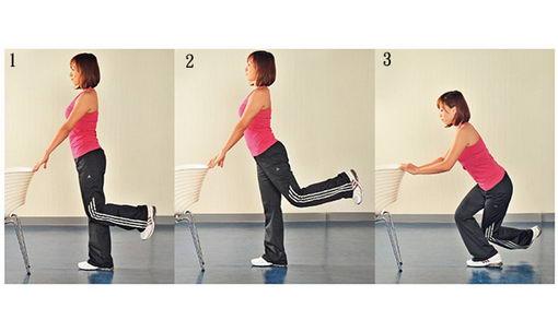 常做4个轻松运动 紧实翘臀不再是梦