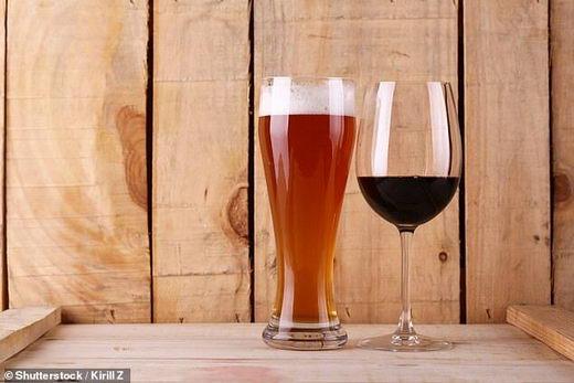 每天一杯酒 高血压风险成倍增高
