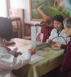 贴心服务进家门――南京肛泰中医医院入户走访送温暖