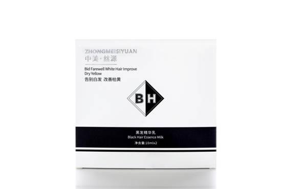 免洗、安全、养发|中美丝源黑发精华乳