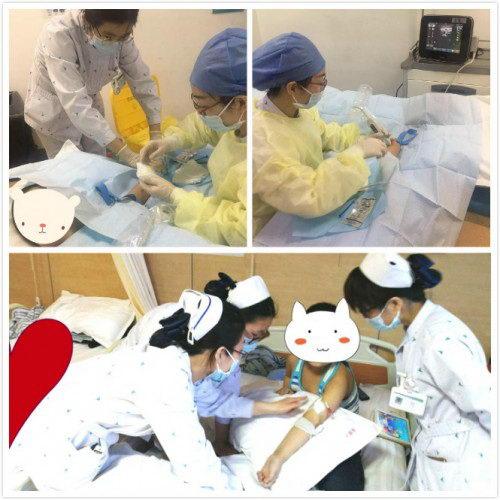 燕达医院肿瘤科为10岁患儿完成PICC置管术