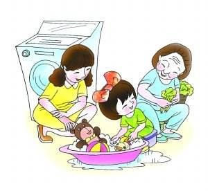 家务劳动做得多 不运动锻炼 身体照样棒!