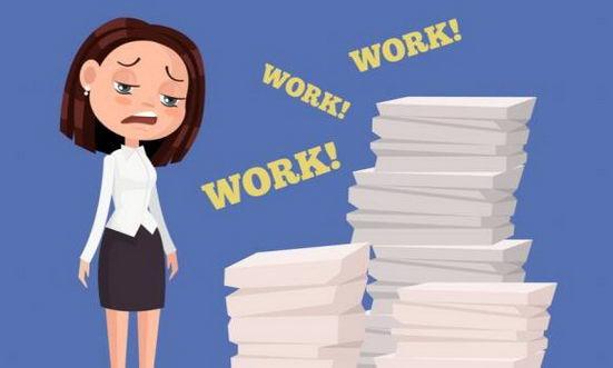 女性容易沉溺于工作 付出的是健康代价
