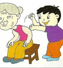 老人常捶背有益健康 还能治失眠