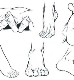 脚掌粗大的女人的命运好吗?