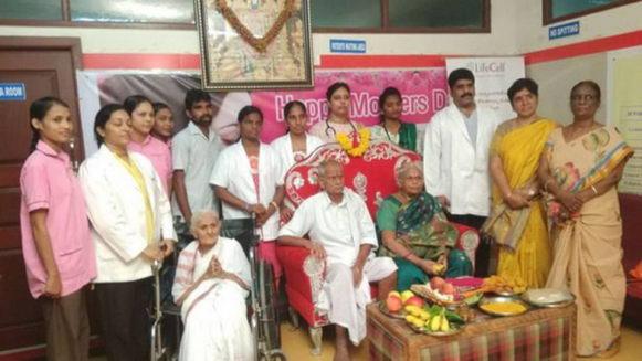 印度强人――74岁老妇人成功分勉