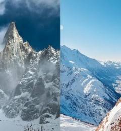 阿尔卑斯山白朗峰上的冰川出现快速滑动现象 全球暖化速度加快?