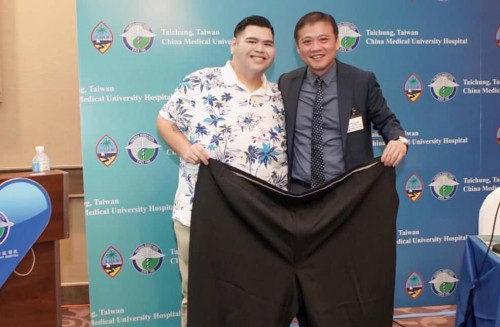 关岛胖小伙重达470斤,减重后判若两人