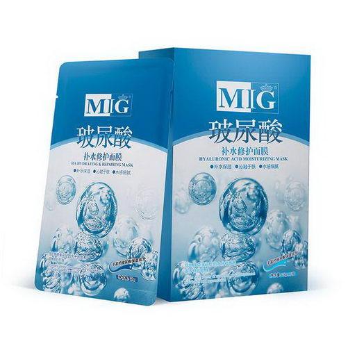 香港MIG玻尿酸补水面膜冬季的使用方法