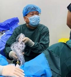 陕西广慈泌尿医院成功实施一例前列腺等离子汽化电切手术