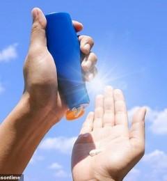 防晒品化学成份会被皮肤吸收 是否对人体有害 还需要更多测试