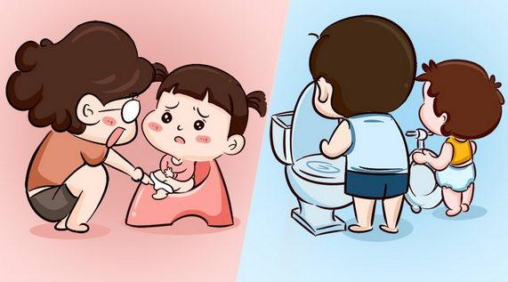 看宝宝的表现,决定何时开始如厕训练