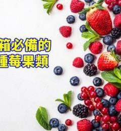 莓果养心解疲劳 居家必备的健康食品