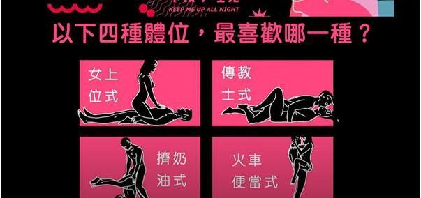 两性爱爱 最受当今男女喜欢的体式