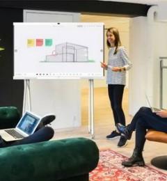 """""""办公宝""""华为企业智慧屏为医疗领域添砖加瓦,推动企业的数字化转型"""